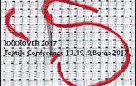 XXXXOVER BORÅS 2017, textil konferens i Borås 2017